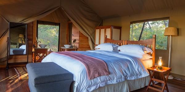 Zimbabwe - Hwange National Park - Verney's Camp - Tents
