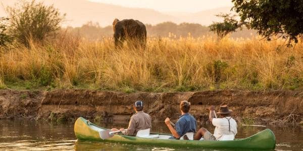 Zimbabwe - Mana Pools National Park - Greater Mana Expedition - Canoeing 2