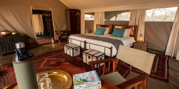 Zimbabwe - Mana Pools National Park - Greater Mana Expedition - Guest Tent