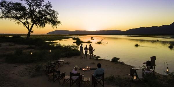 Zimbabwe - Mana Pools National Park - John's Camp - Firepit