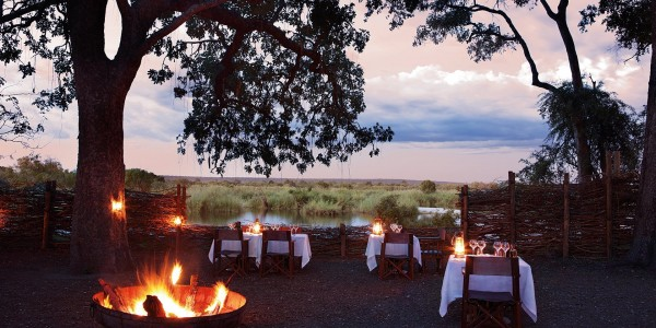 Zimbabwe - Victoria Falls - Matetsi River Lodge - Dining
