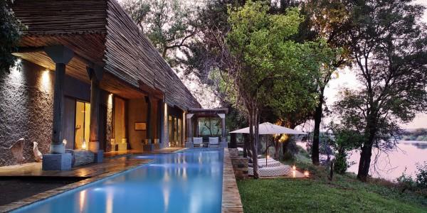 Zimbabwe - Victoria Falls - Matetsi River Lodge - Pool