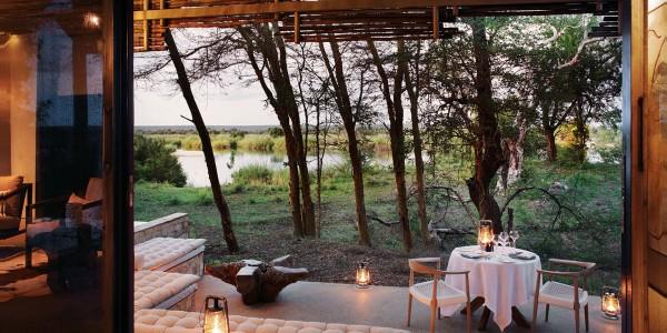 Zimbabwe - Victoria Falls - Matetsi River Lodge - Private Dinner