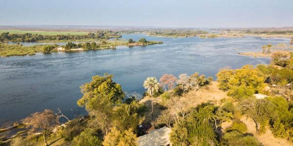 Zimbabwe - Victoria Falls - Mpala Jena Camp - Aerial