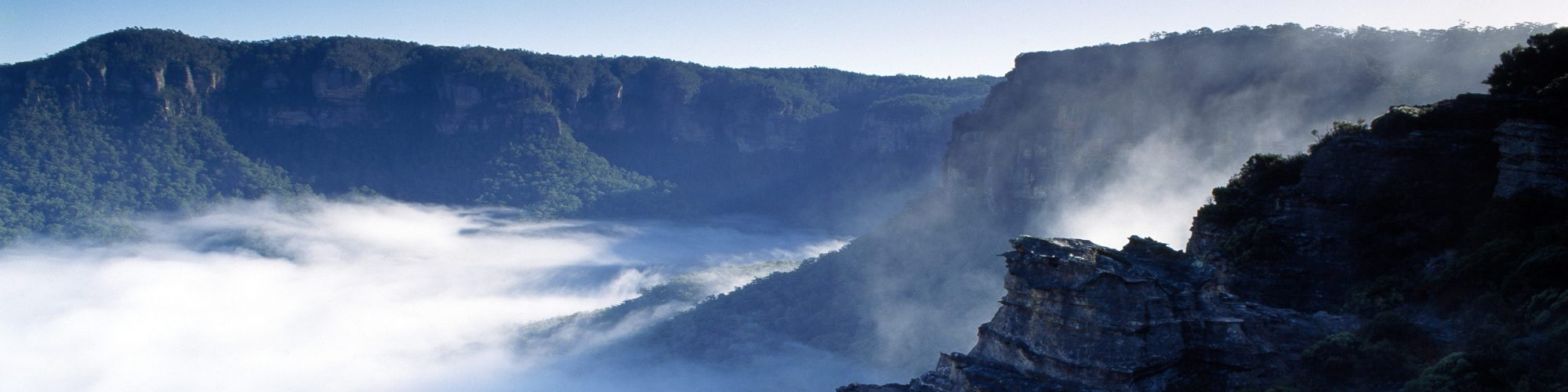 Jamison Valley, Blue Mountains, NSW - Credit: Tourism Australia
